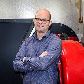 Portrait von Daniel Pankoke, Projektleiter bei Hagelschuer