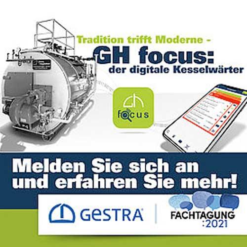 GH focus App Präsentation GESTRA Fachtagung 2021
