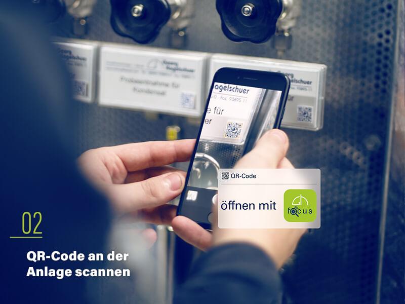 02 - QR Code scannen