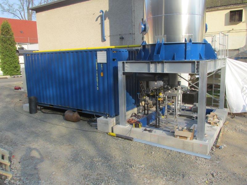 Hagelschuer Referenz für Papier und Wellpappe Aufbau der Dampfkessel im Detail