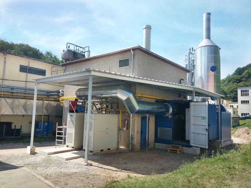 Hagelschuer Referenz für Papier und Wellpappe Installierte Dampfanlage