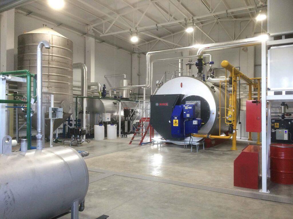 Hagelschuer Referenz Textilpflege Auerbach - Dampfkesselanlage