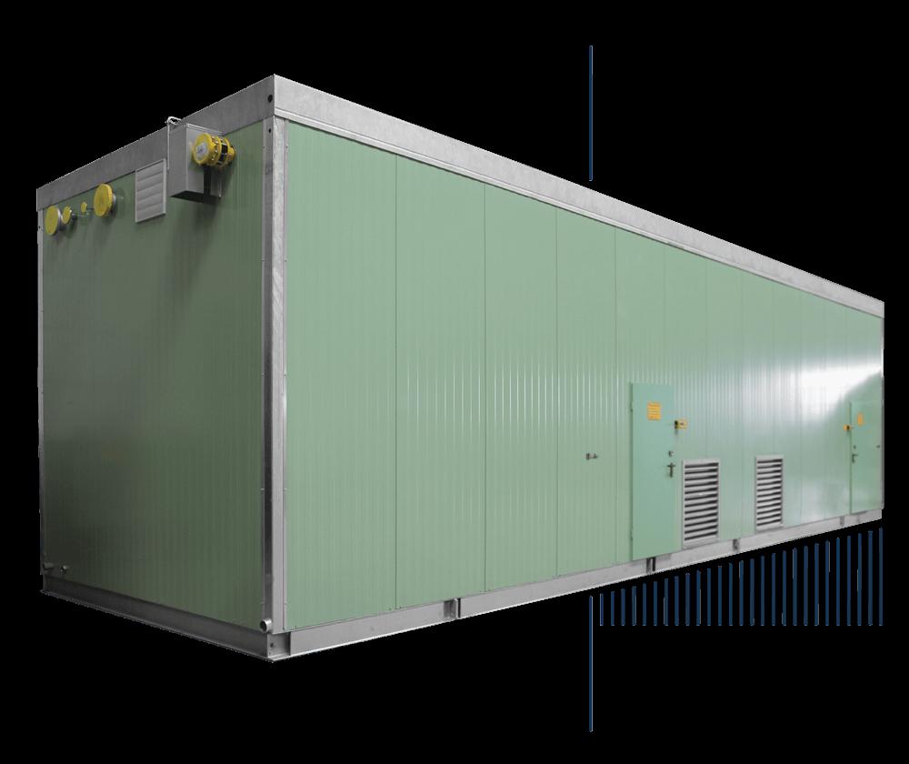Mobiler Dampfkessel im Container kaufen