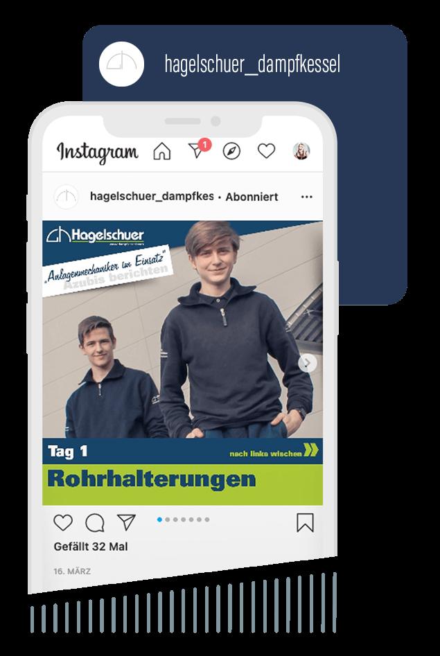 Instagram Kanal Hagelschuer